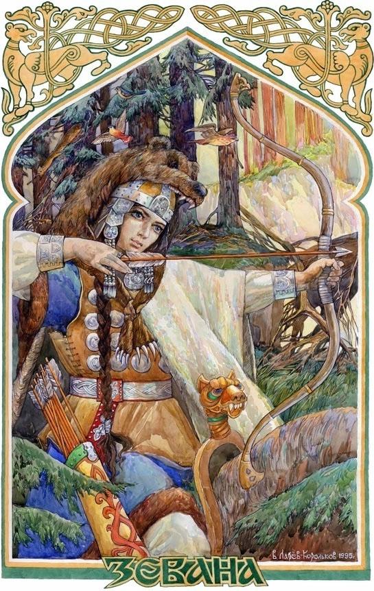 Древнегреческая богиня диана обвинила маленького пастушка
